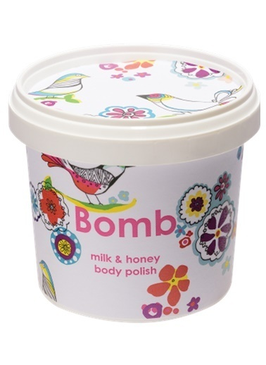 Bomb Cosmetics Milk & Honey Vücut Peeling 375g Renksiz